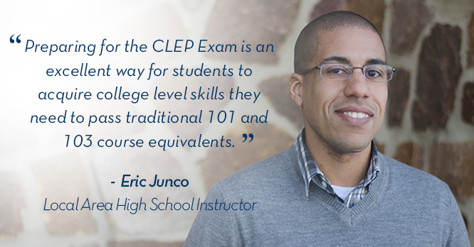 Instructor CLEP Testimonial