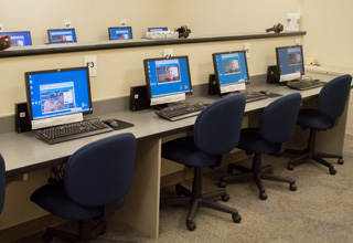 Testing Center Computers