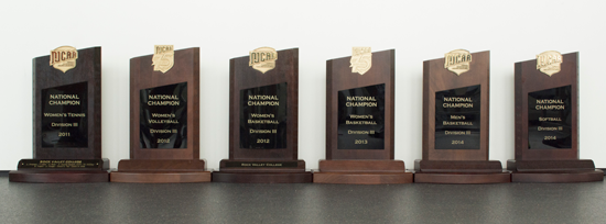 NJCAA National Championship Trophies