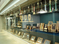 PEC Trophy Case