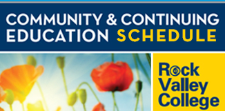 Community and Continuing Education schedule