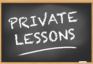 Private Lessons Promo Box