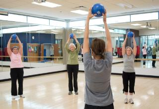 RVC's Center for Learning in Retirement CLR Golden Eagle Fitness Yoga Class
