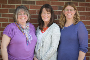 CLR Staff members (left to right): Beverly Pomering, Maureen Morrissey, Tammy Lewis
