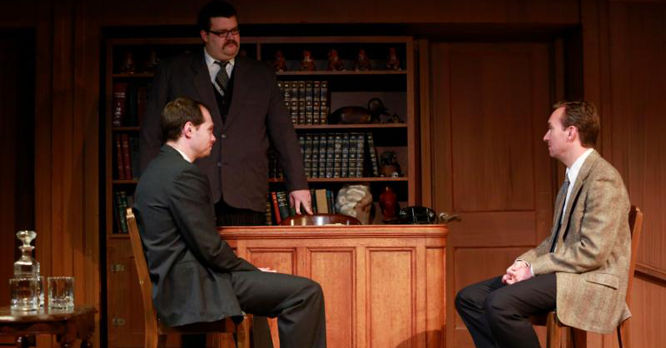 Witness for the Prosecution, performed at RVC's Studio Theatre in October 2015.