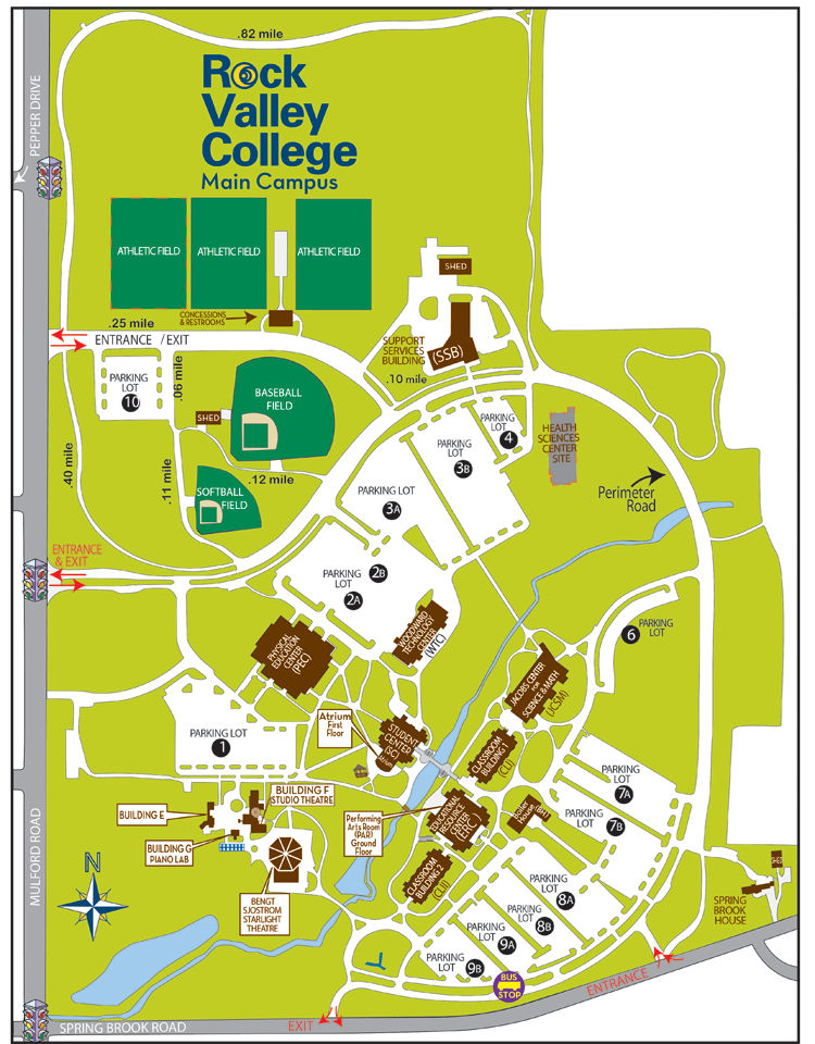 royal roads campus map pdf