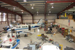 RVC Aviation Maint. Tech. program hangar
