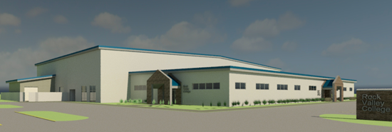 RVC's new Aviation facility drawing