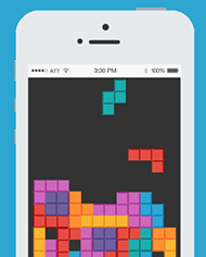 Create Tetris type game using game basics with Sprite Kit