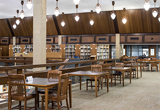Tour the Library located in the ERC!