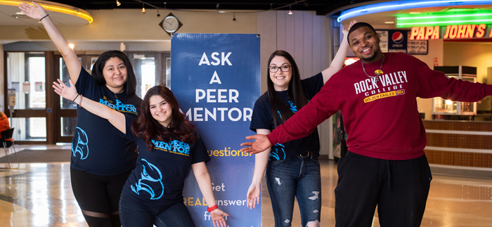 Peer Mentoring at RVC is available to all students!