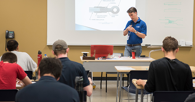 Aviation Maintenance Technology Classroom