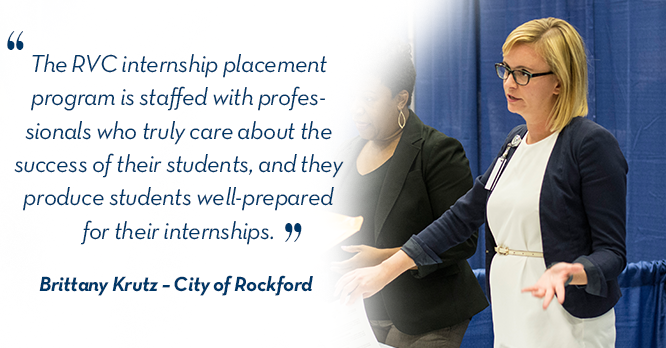 Brittany City of Rockford Employer Quote
