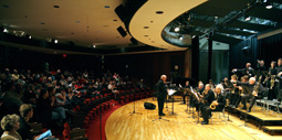 A concert is performed in the Performing Arts Room at RVC!