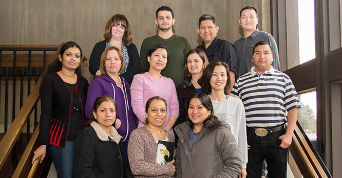 Rock Valley College Intensive English Program Group of Students