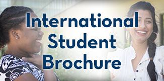 International Student Brochure Graphic Button