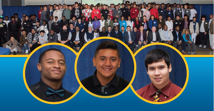 Header banner from the Minority Male Leadership Conference 2020 Flyer