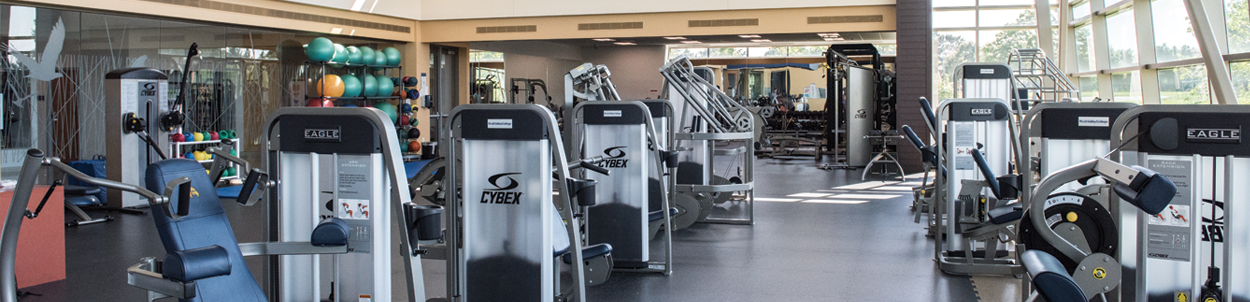 RVC Fitness Lab located in the Rock Valley College Physical Education Center