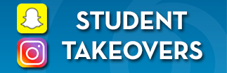 Takeover Rock Valley College's Snapchat or Instagram for a day!