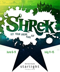 Shrek the Musical Summer 2018 Production
