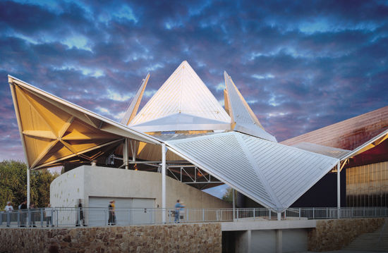 The remodeled Bengt Sjostrom Theatre opened in 2003 and is a one-of-a-kind architectural marvel!